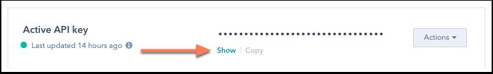 show-API-key