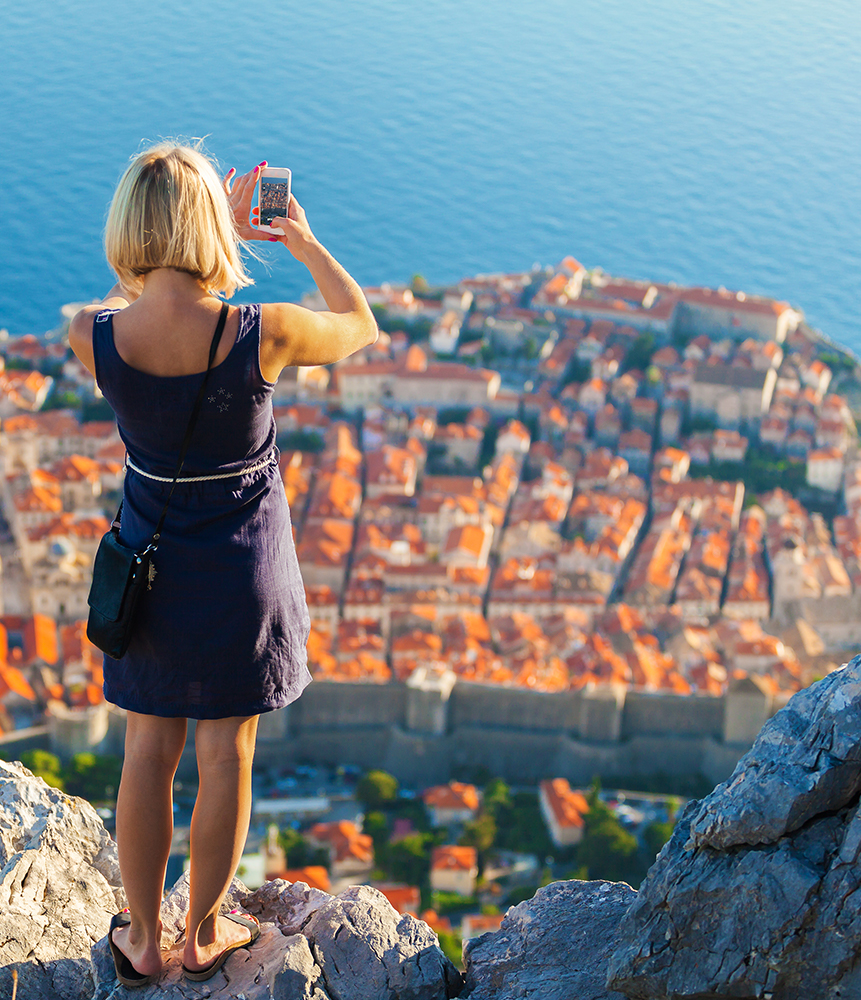 Has social media ruined the beauty of travel - photo from Dubrovnik Croatia