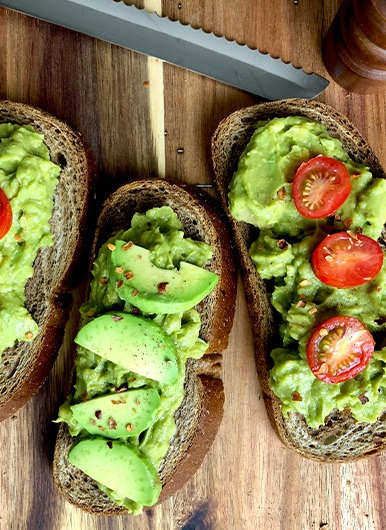 avocado is a favourite breakfast food trend