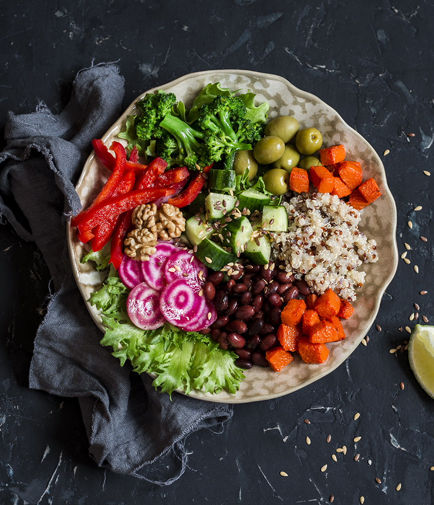 Protein rich food - Buddha Bowl