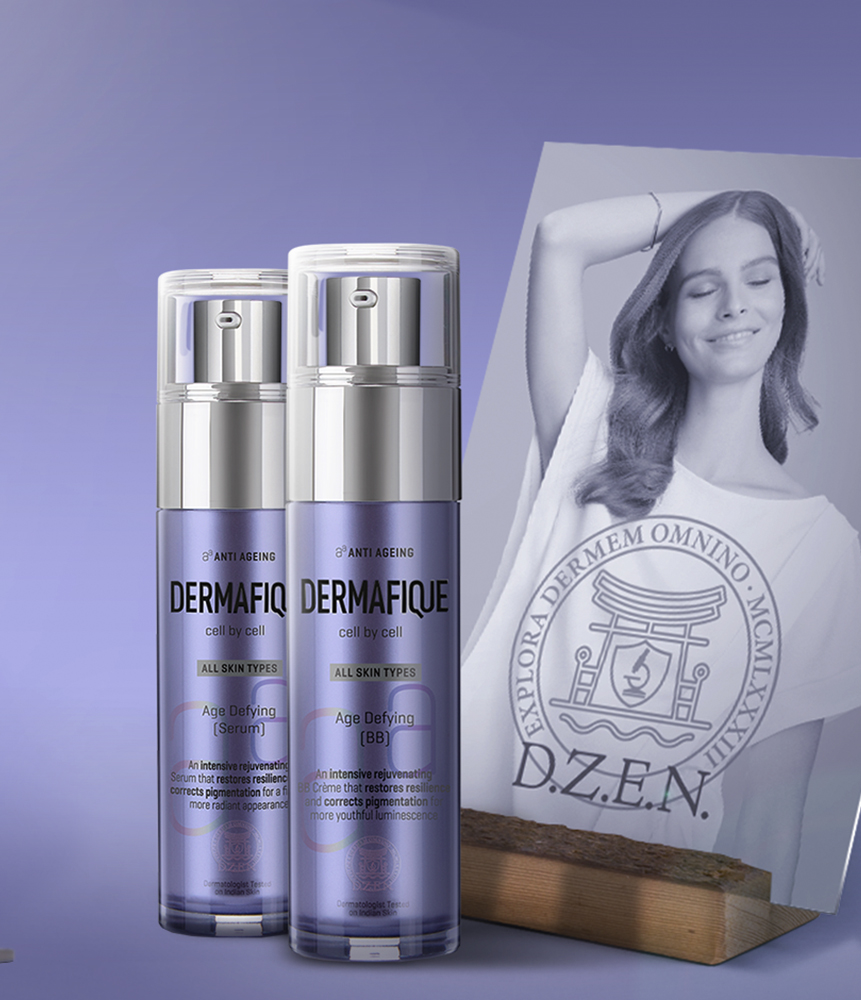Dermafique anti ageing range - Age defying BB cream and Serum - add the power of Stem cell technology in your skin care routine