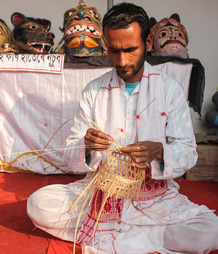 Local handicrafts by native artisans in the North East