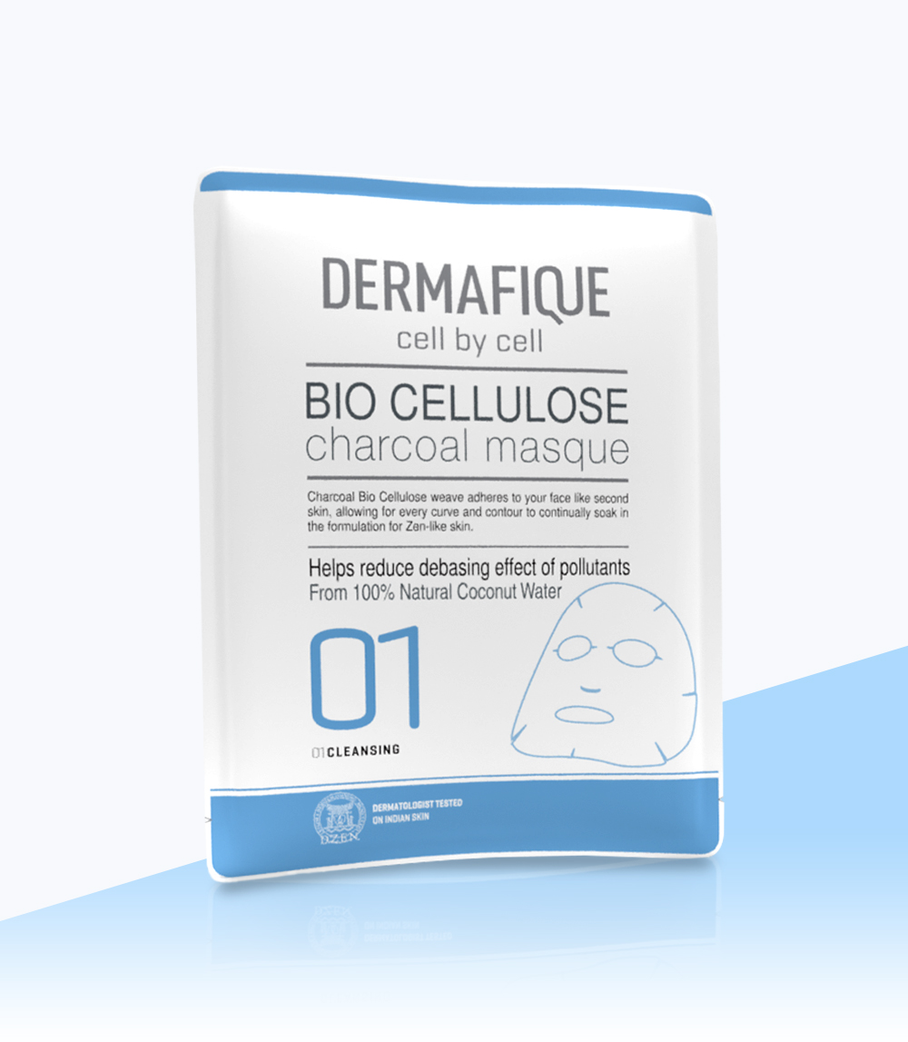 Bio Cellulose Charcoal Face Mask