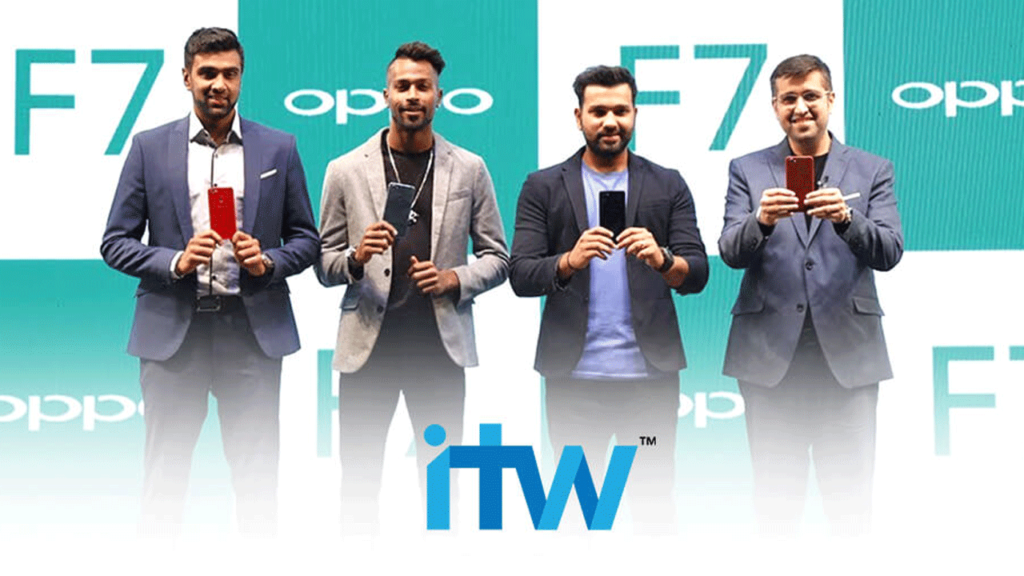 ITW-brings-oppo-indian- cricket's-best- together-for-the- launch-of-the- new-F7