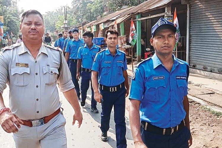 wb police volunteer agragami