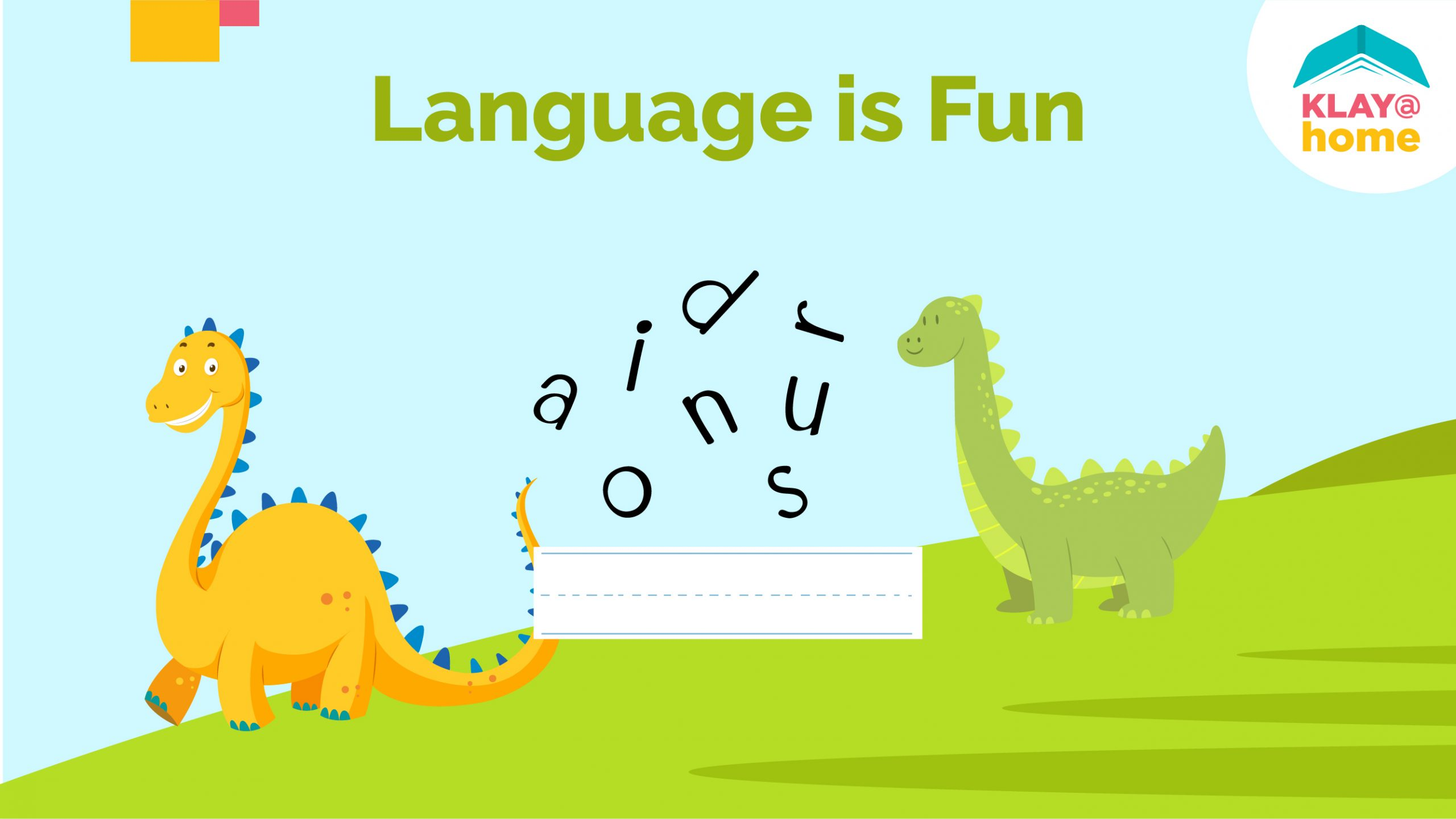 Language is Fun!