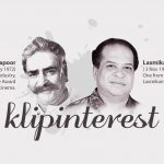 Prithviraj Kapoor & Laxmikant Shantaram Kudalkar
