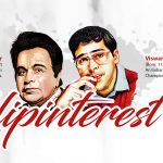 """Dilip Kumar & Viswanathan """"Vishy"""" Anand"""