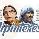 Balkrishna Vithaldas Doshi & Mary Teresa Bojaxhiu