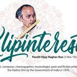 Pandit Vijay Raghav Rao