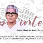 Edasseri Govindan Nair