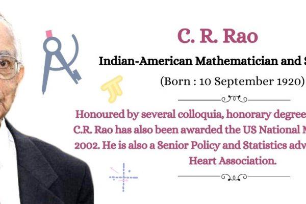 C. R. Rao