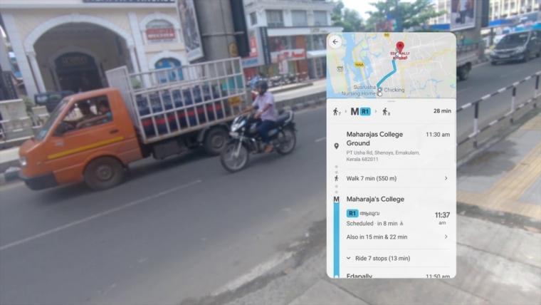 Google Map video