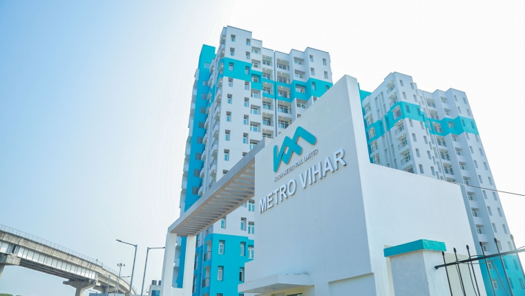 Keys of Metro Vihar Handed Over