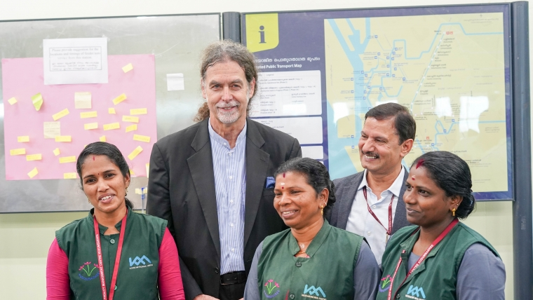 German Ambassador Lauds The Kochi Water Metro Project