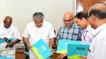 'Beyond Tracks', The Coffee-Table book On The Journey Of Kochi Metro Released.