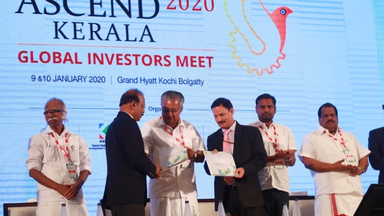 KMRL Signs MoUs For Kakkanad Bliss City Project And Kochi Water Metro.