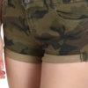 women strechable shorts