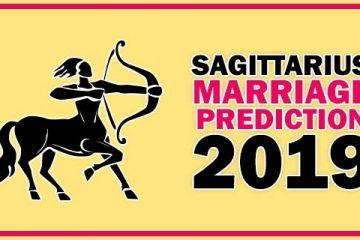 Sagittarius Marriage Horoscope Prediction 2019