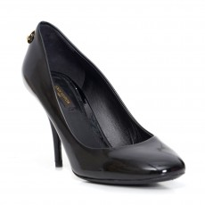 Louis Vuitton Oh Really Black Patent Leather Pumps