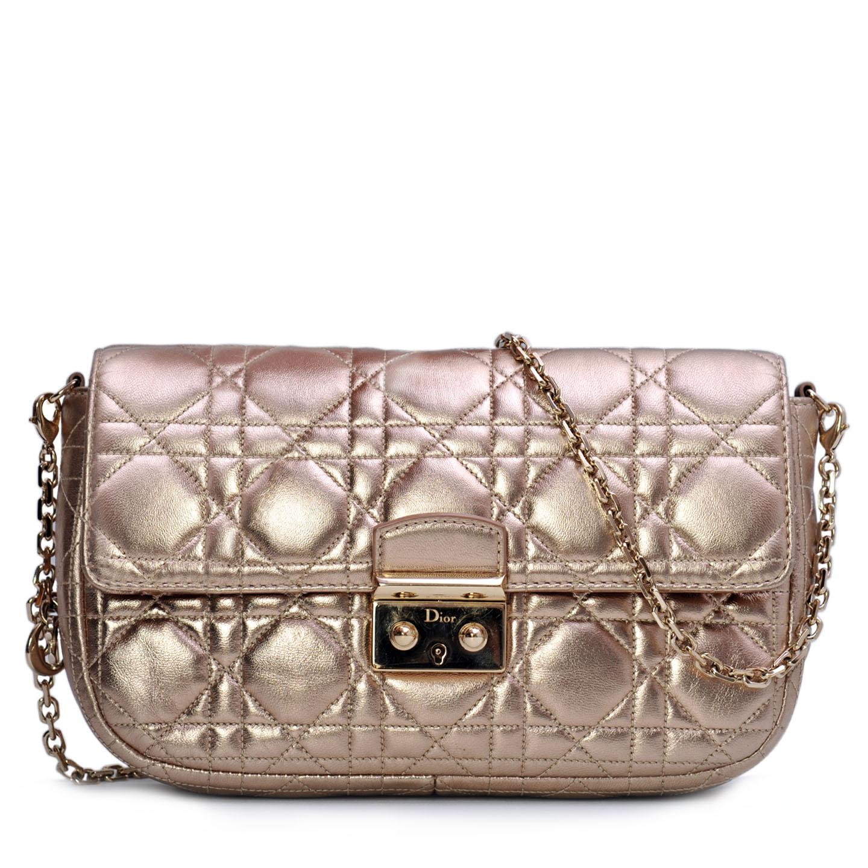 Christian Dior Miss Dior Promenade Pouch Gold - LabelCentric 713c6f60b7bf5