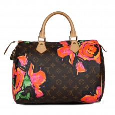 Louis Vuitton Stephen Sprouse Roses Speedy 30-9