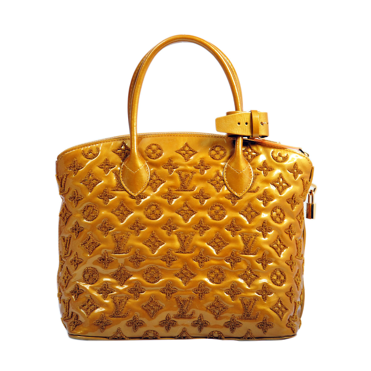 0edaa4a499d52 Louis Vuitton Patent Lambskin Fascination Lockit Bag - LabelCentric