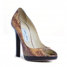 Jimmy Choo Snakeskin Premier Pumps-1