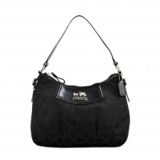 Coach black hobo-1
