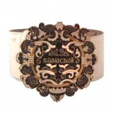 Roberto Cavalli Patent Leather Wide Waist Belt 01