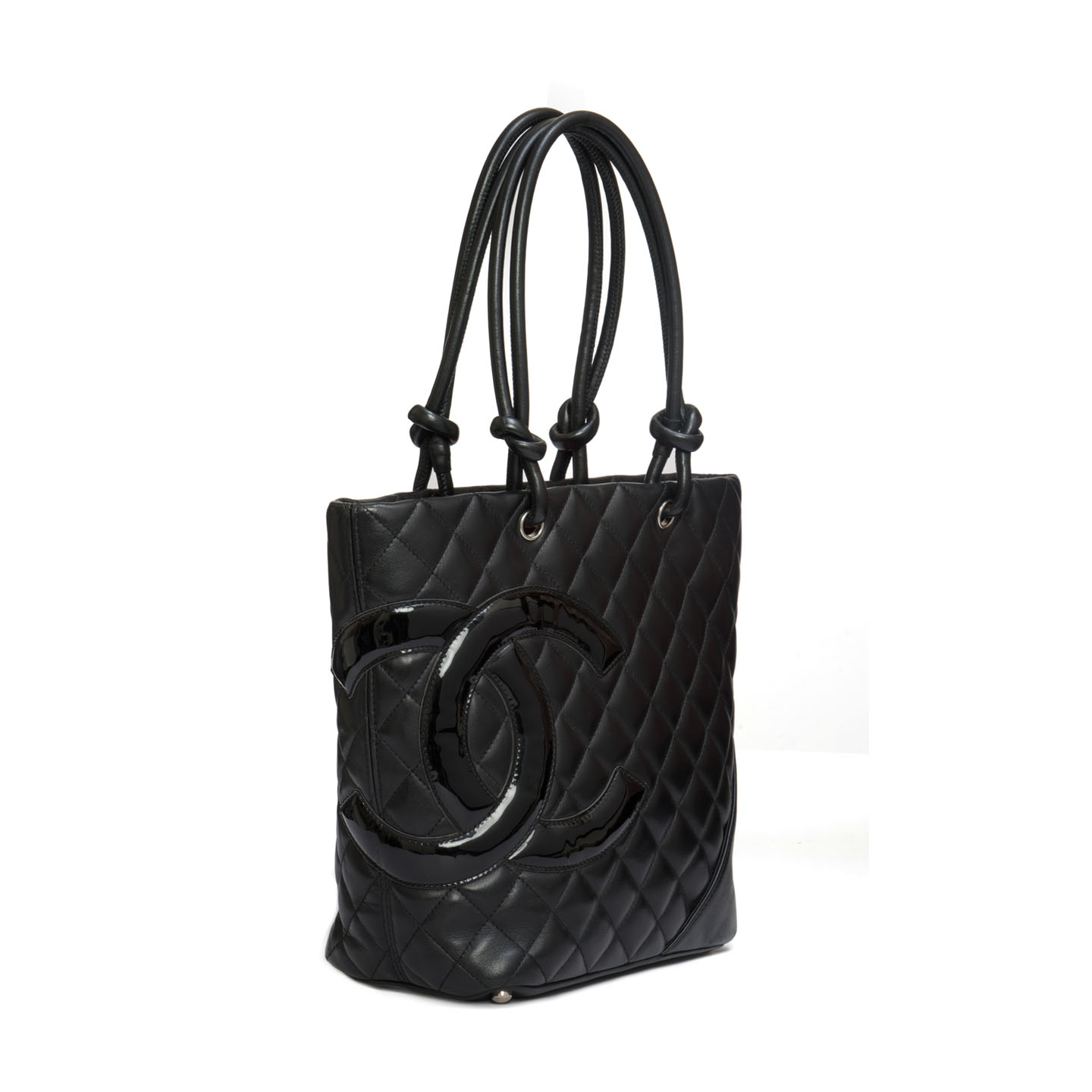 e214e26c8d46 Chanel Black Quilted Ligne Cambon Medium Tote - LabelCentric
