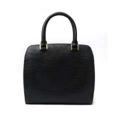 Louis Vuitton Black Epi Leather Pont-Neuf PM Bag 01
