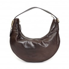 Gucci Brown Leather Small Duchessa Hobo Bag 01