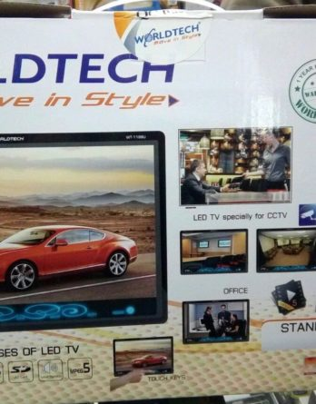"Worldtech 11""LED Digital TFT Screen USB/ SD Card Readable /AV in AV Out Full HD"