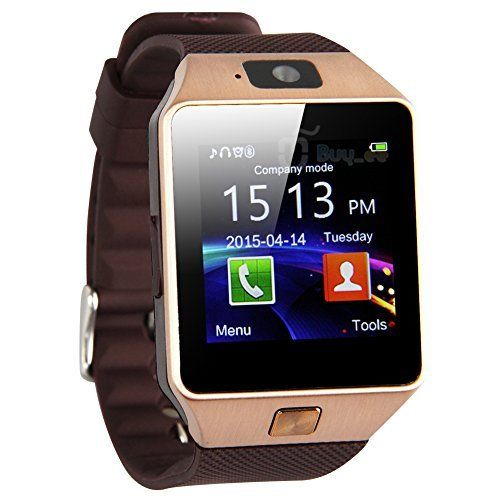 Bluetooth Smart Watch Phone - Sim Card & Memory Slot - Camera - Android iOS