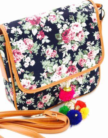 Cross Stitch IKKAT Sling Bag