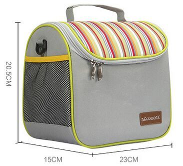Insulated Tiffing Bag With Removable Cover Bag