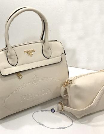 Prada Like combo with sling bag For Ladies