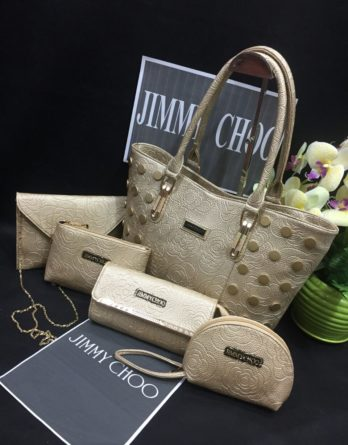 Jimmy Choo 5 Bags Combo for Ladies 6 Colors