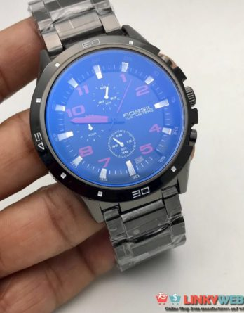 Fossil Gents WatchξBest QualityξChronograph Working