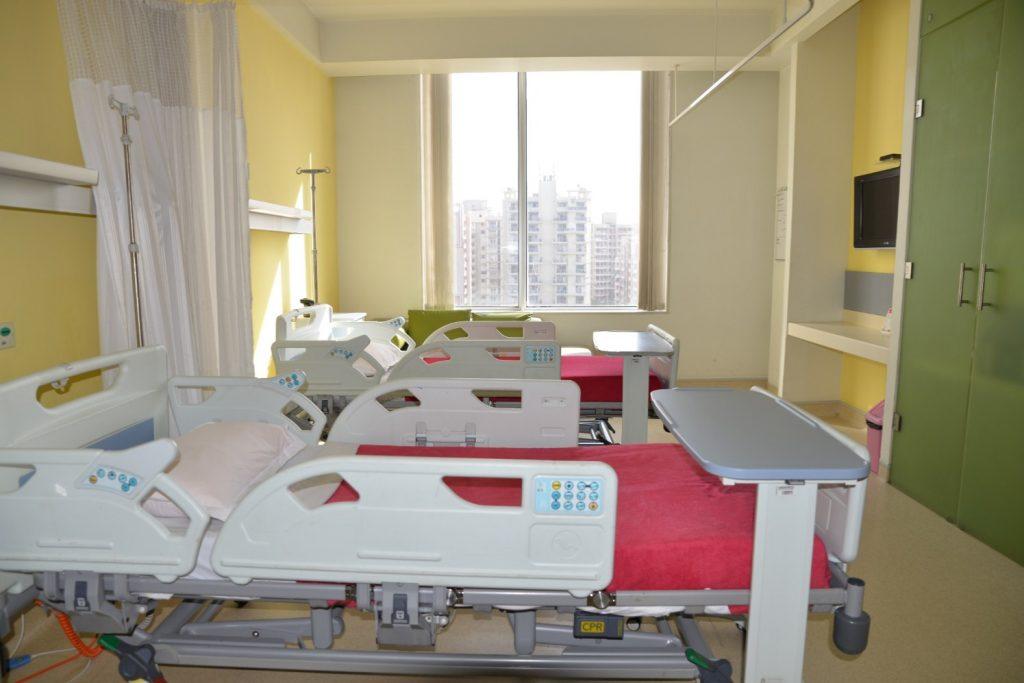 Private hospital room plan - Take A Virtual Tour