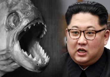 किम जोंग उनची क्रूरता, जनरलला हिंस्र माशांच्या तलावात फेकलं