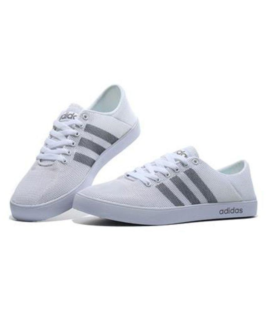 KrazyBee - Adidas neo 1 White Casual Shoes