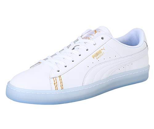 Puma Unisex Basket Classic One8 White