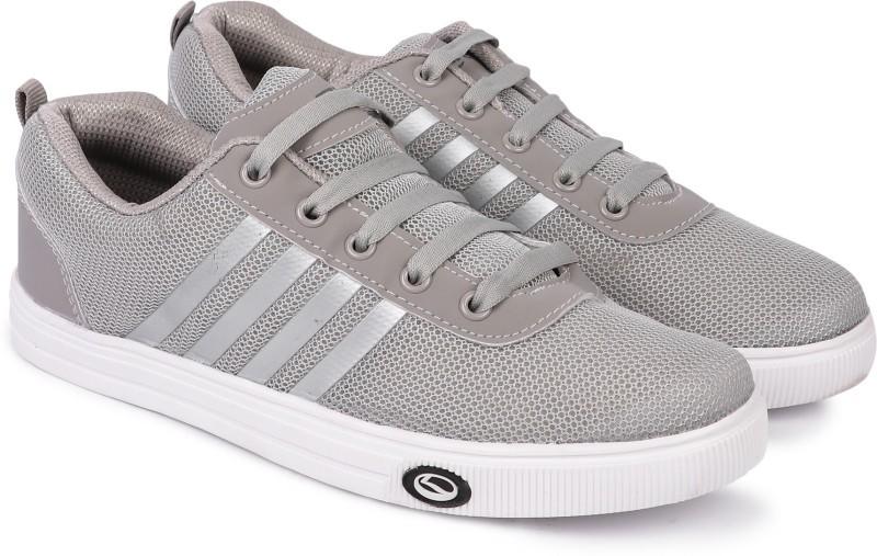 Lancer Canvas Shoes For Men(Grey