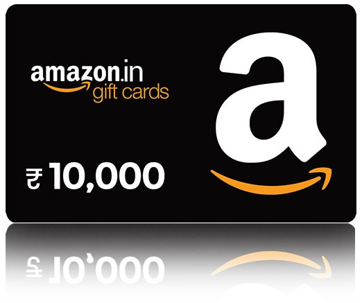 Amazon Gift Card - Rs. 10000