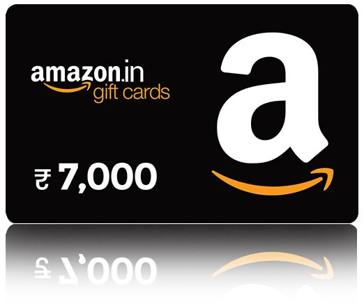 Amazon Gift Card - Rs. 7000