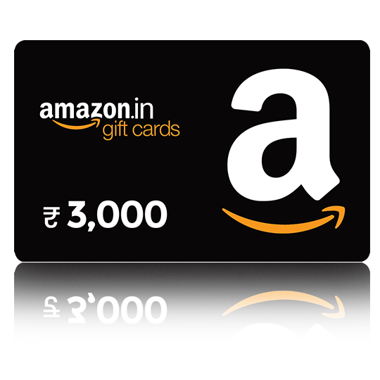 Amazon Gift Card - Rs. 3000