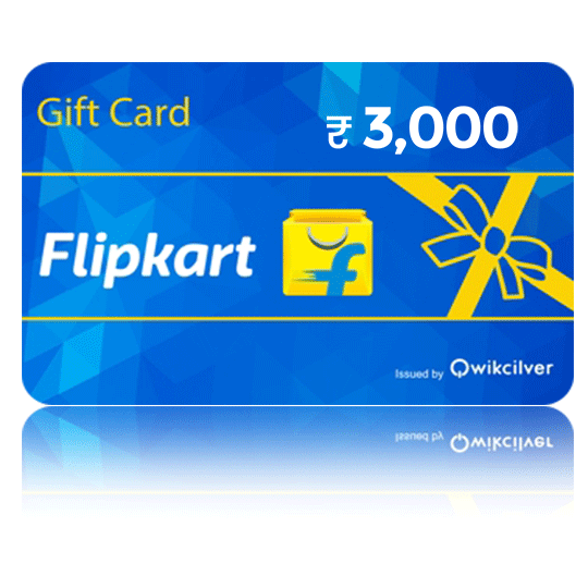 Flipkart Gift Card - Rs. 3000