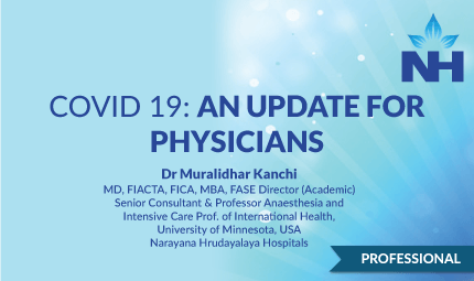 COVID-19: An Update for Physicians